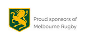 Proud sponsors of Melbourne Rugby
