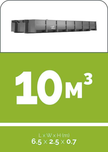 10m3 sized skip bin