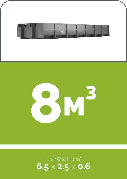 8m3 sized skip bin