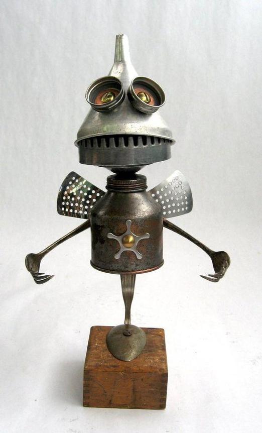 scrap metal knight